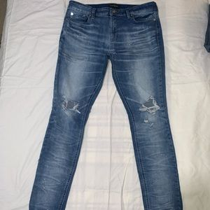 PacSun Skinny Ripped Jeans (33x32)